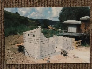 Block construction of toilets