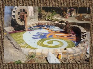 Water wheel during painting B